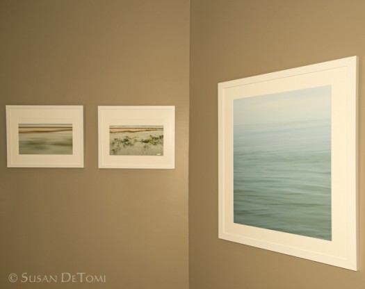 Abstract series of coastal photographs